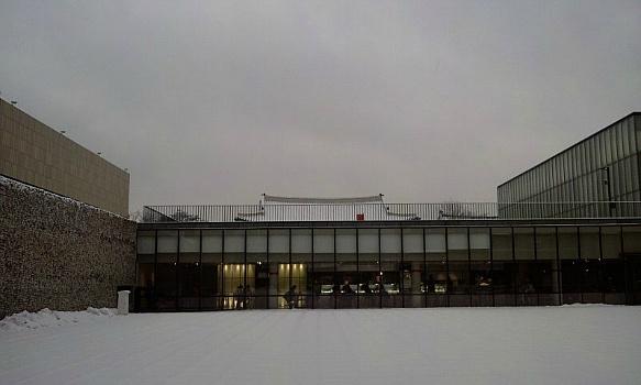 마당에 풍경을 품은 국립현대미술관 서울관