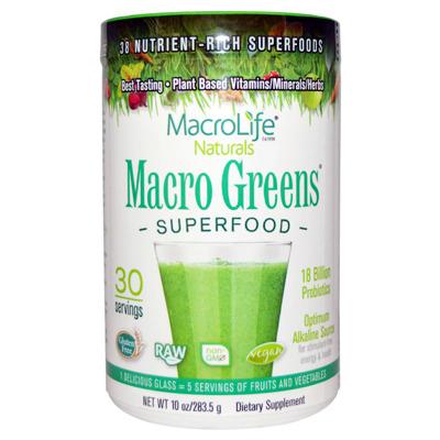 마크로그린 Macro Greens 천연 채소 과일 그린분말