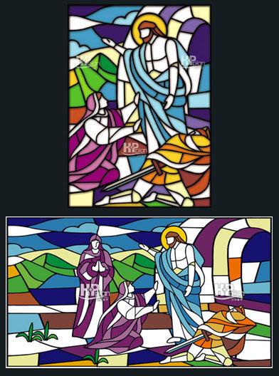 교회창문썬팅 교회유리창선팅 교회창문썬팅 교회성화선팅