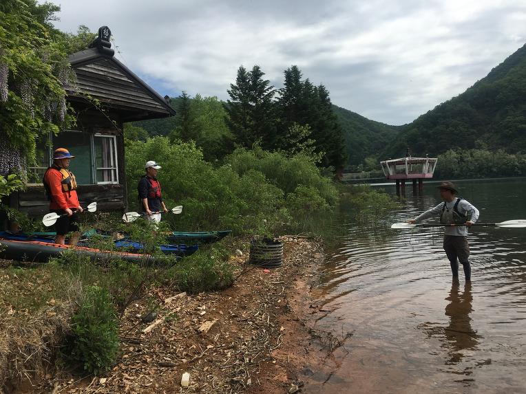 [2019년05월18일] 춘천댐 팔각정 카약킹
