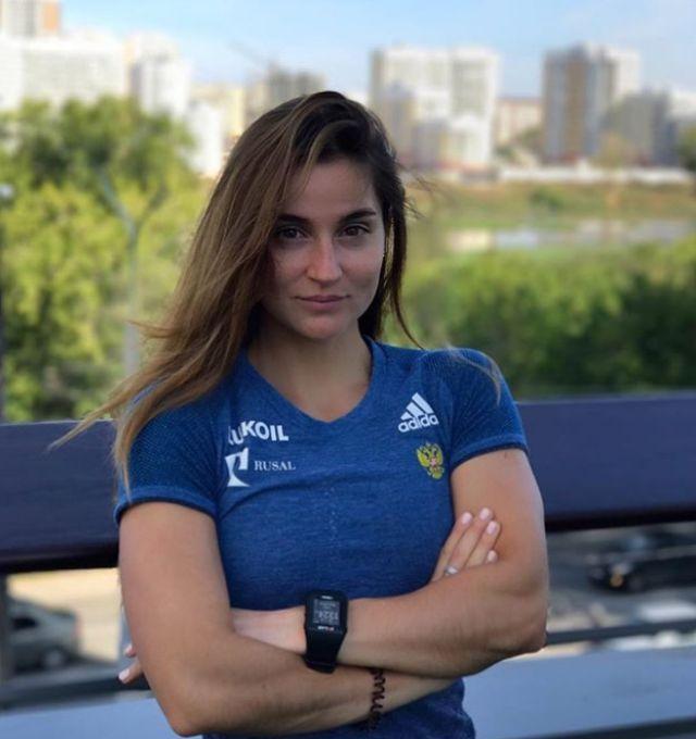평창동계올림픽에 참가한 러시아 미녀 선수들
